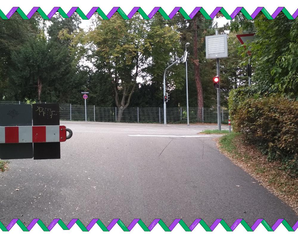 (fehlende) Sicht aus der Querstraße