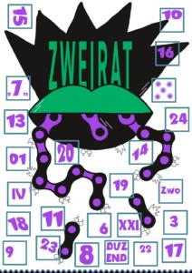 Zweirat-Adventskalender