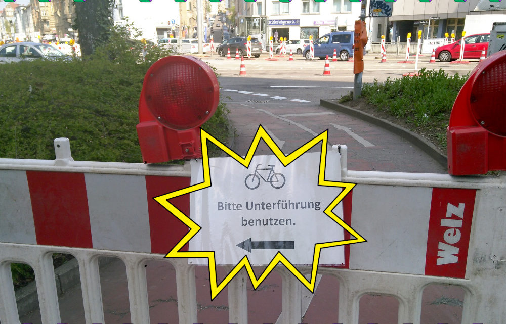 Neckartor-Baustelle, Teil 2