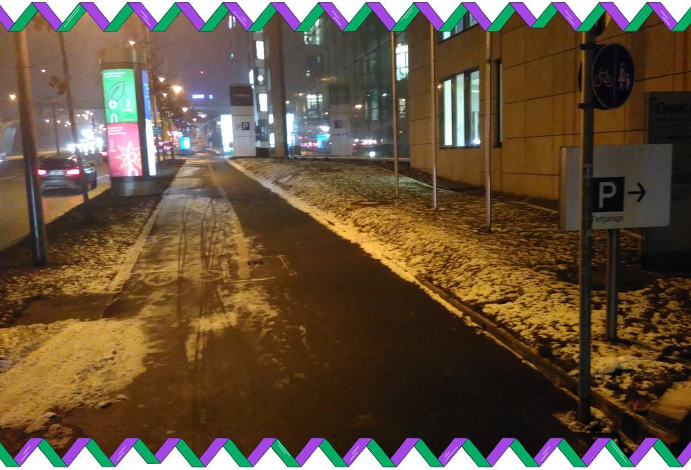 verschneiter Pragsattel im Winter