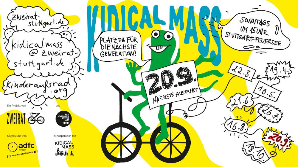 Einladung zur Kidical Mass am 20.9.