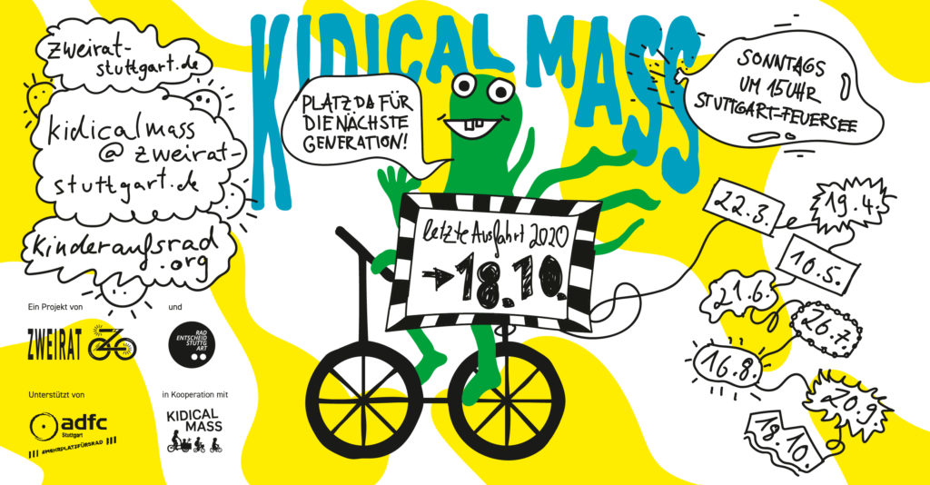 Flyer Kidical Mass Oktober 2020